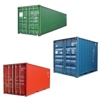 10', 20', 40' dry storage container
