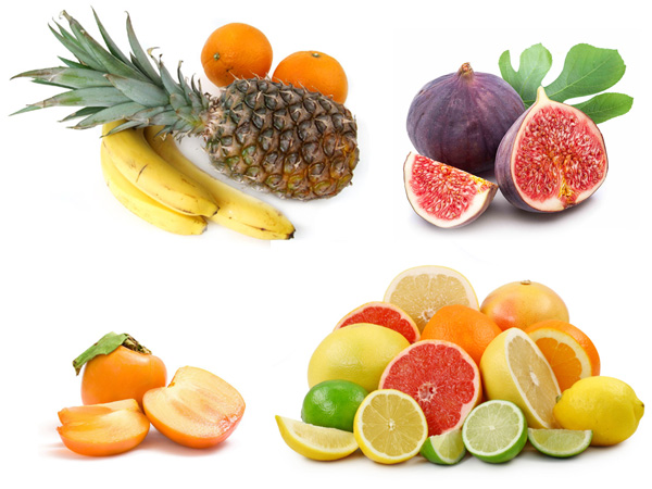 Subtropical and tropical fruits