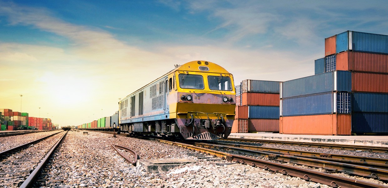 Freight railroads play an important role, especially for moving imports and exports using containers.